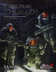 A Gift From Shamash: A Science Fiction Scenario for Mythras Imperative