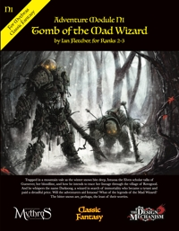 Tomb of the Mad Wizard: Classic Fantasy Adventure Module N1