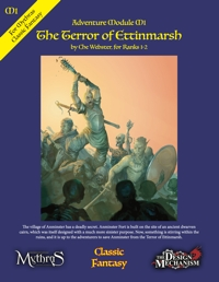 The Terror of Ettinmarsh: Classic Fantasy Adventure Module M1