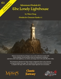 The Lonely Lighthouse: Classic Fantasy Adventure Module G2