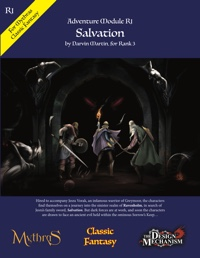 Salvation: Classic Fantasy Adventure Module R1