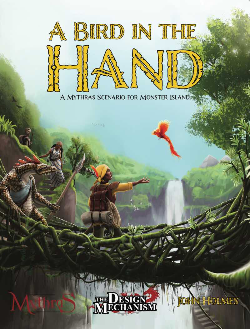A Bird in the Hand: A Mythras Adventure for Monster Island
